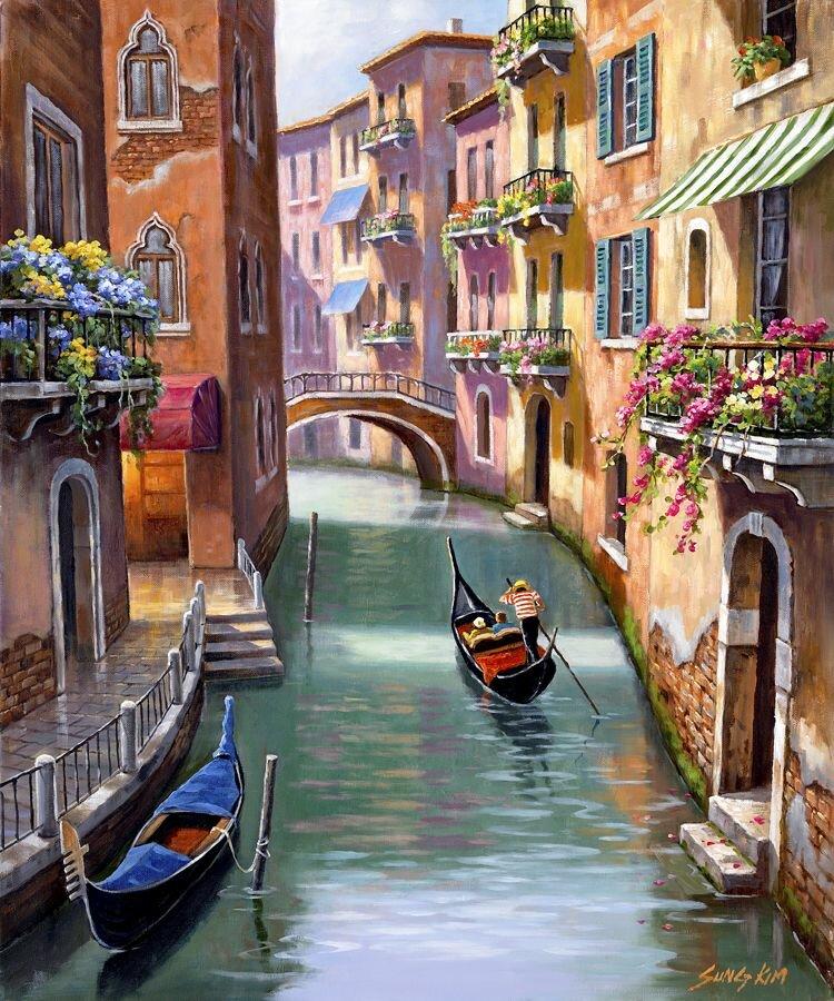 Красивые, италия в картинках нарисованная