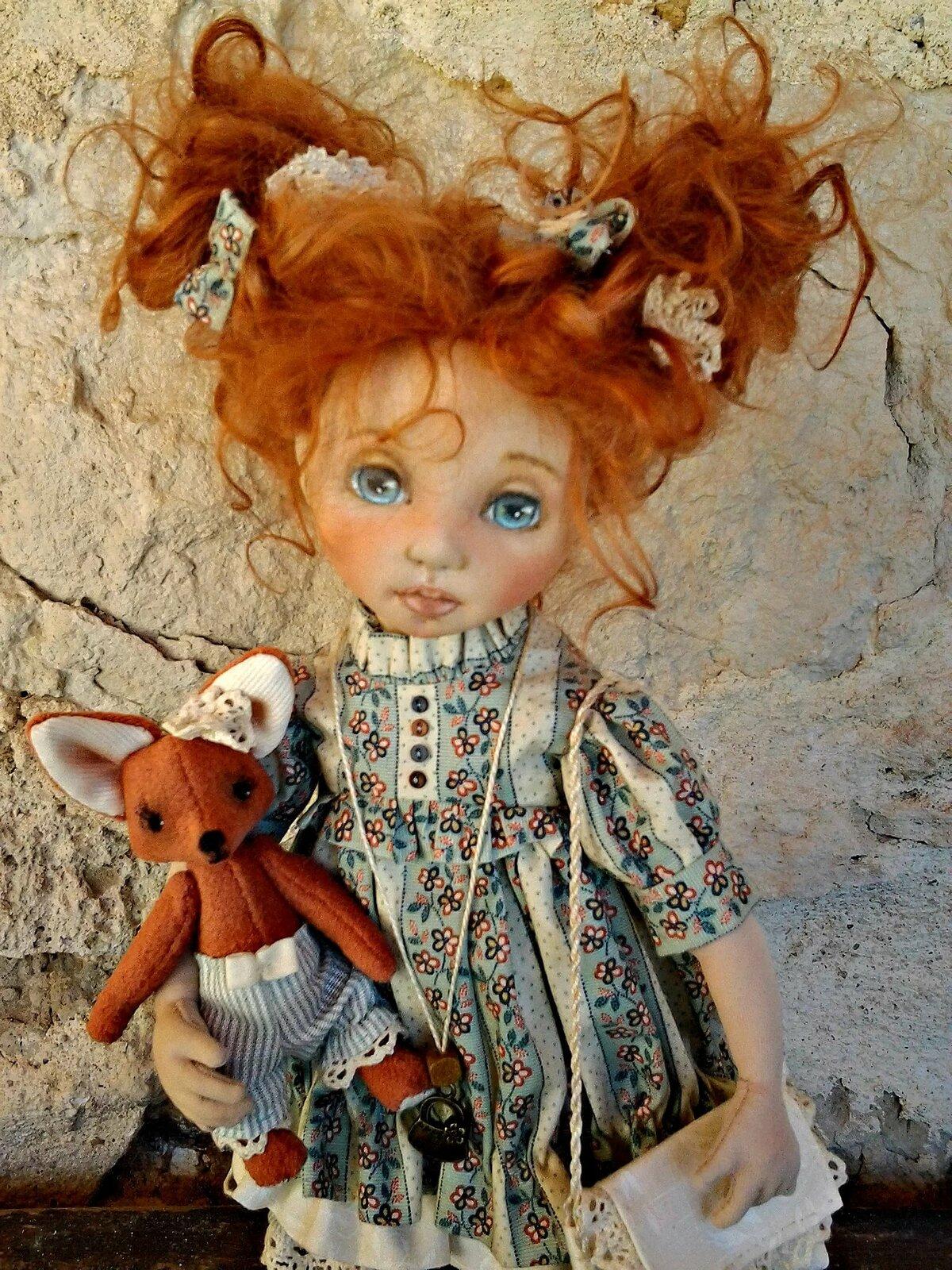 авторские куклы лучших мастеров мира фото коржи получившимся кремом