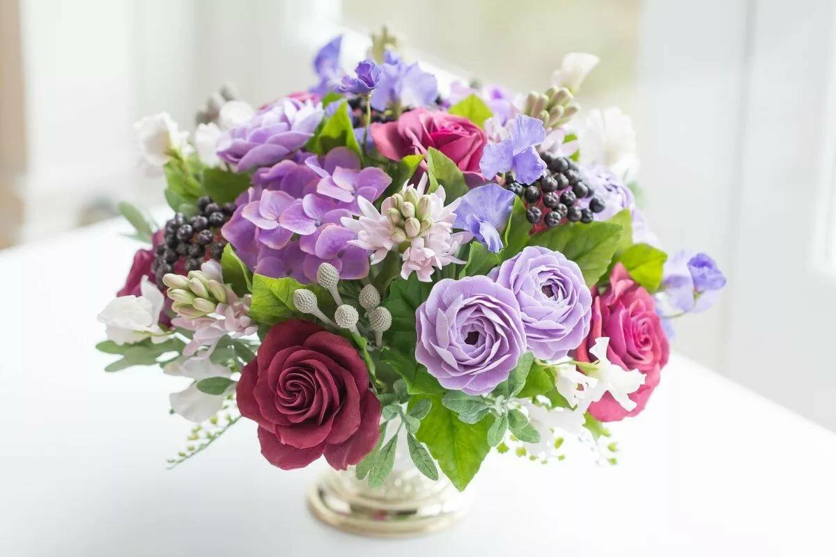 Дизайнерский букет цветов