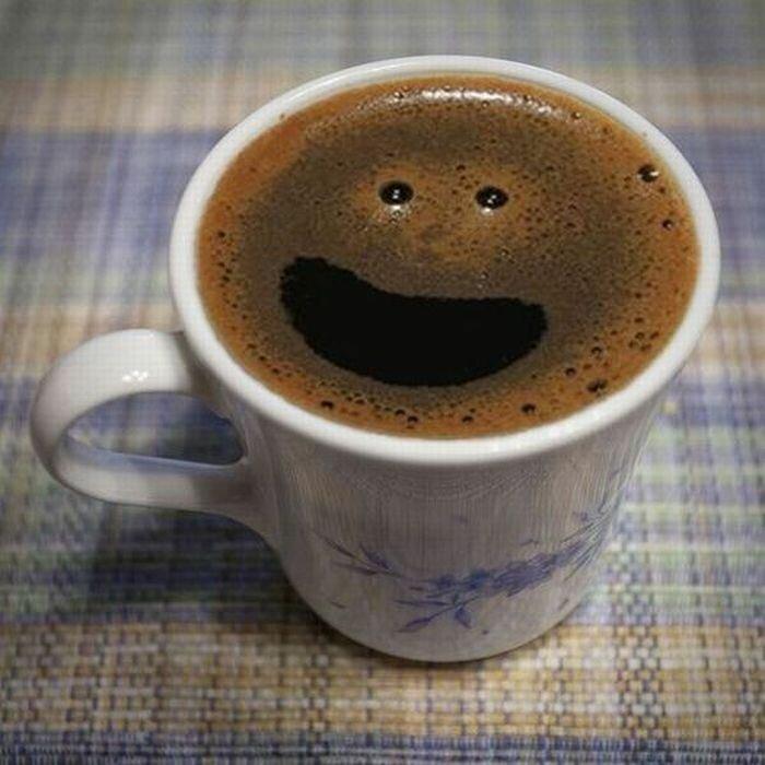 Прикольные картинки про кофе и доброе утро