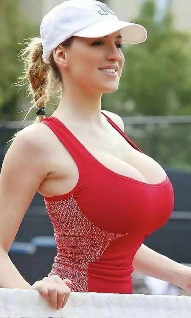 Sexy naked women in tank tops