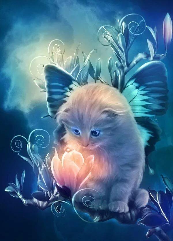 Девушке елене, анимационные картинки добрых снов котики