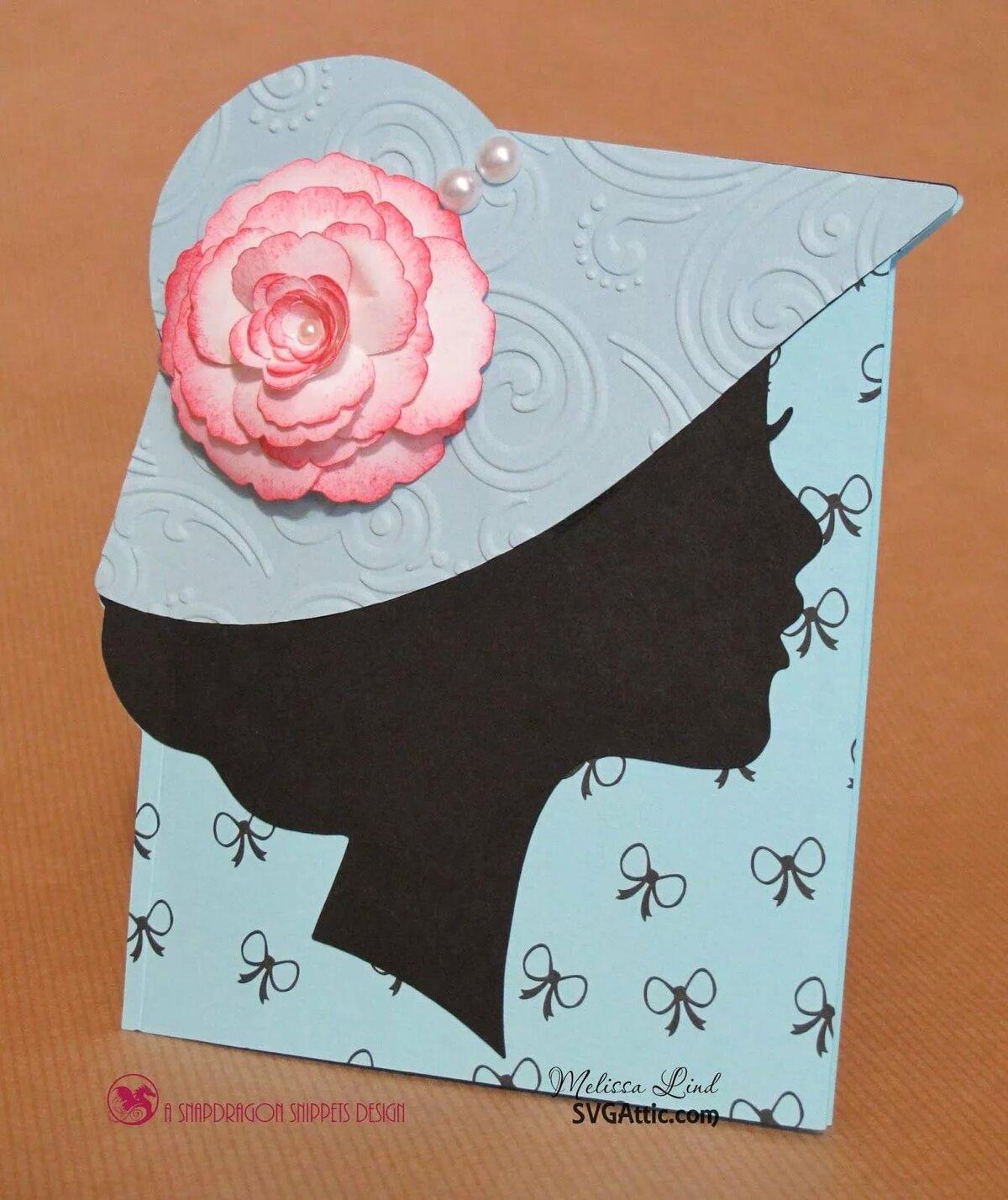 Открытки для женщин из бумаги своими руками