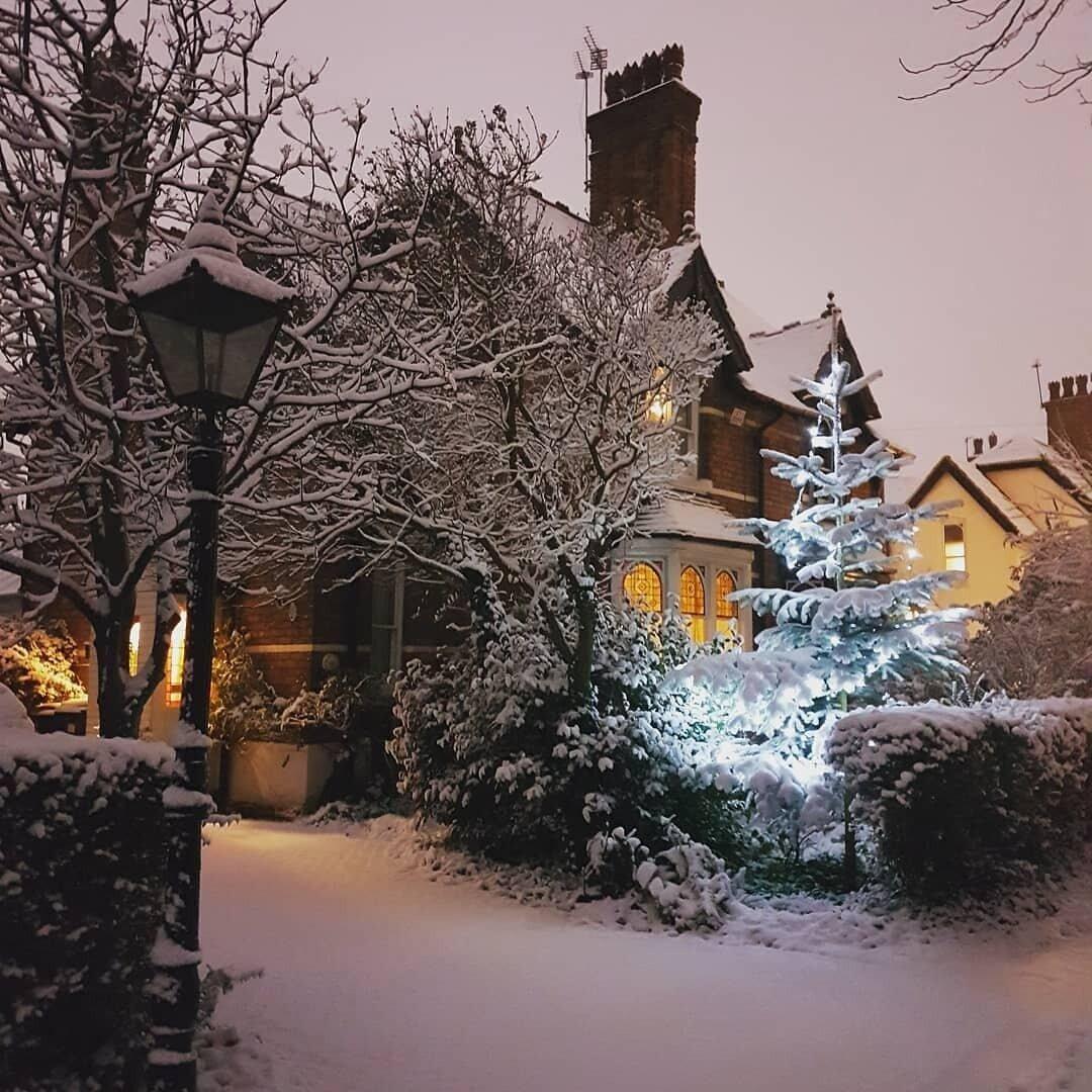Зимняя англия открытка