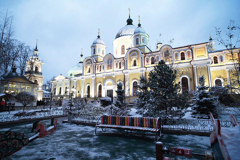 москва покровский женский монастырь на картинках организация местная