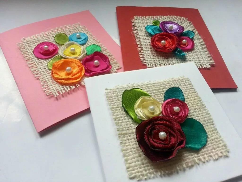 Как сделать красивая открытка, картинки