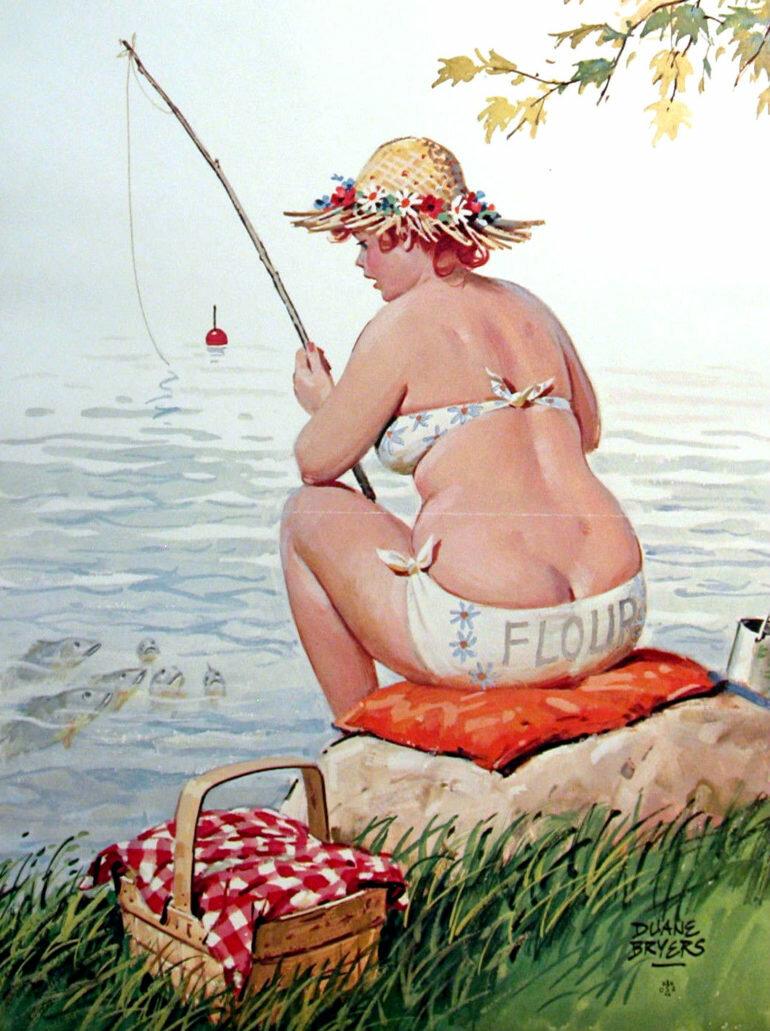Картинки, смешные открытки с толстушками