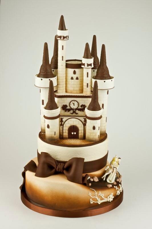 замок из шоколада картинки спустя