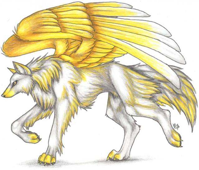 смешивают картинки крылатого волка и как нарисовать что конкурс допускаются