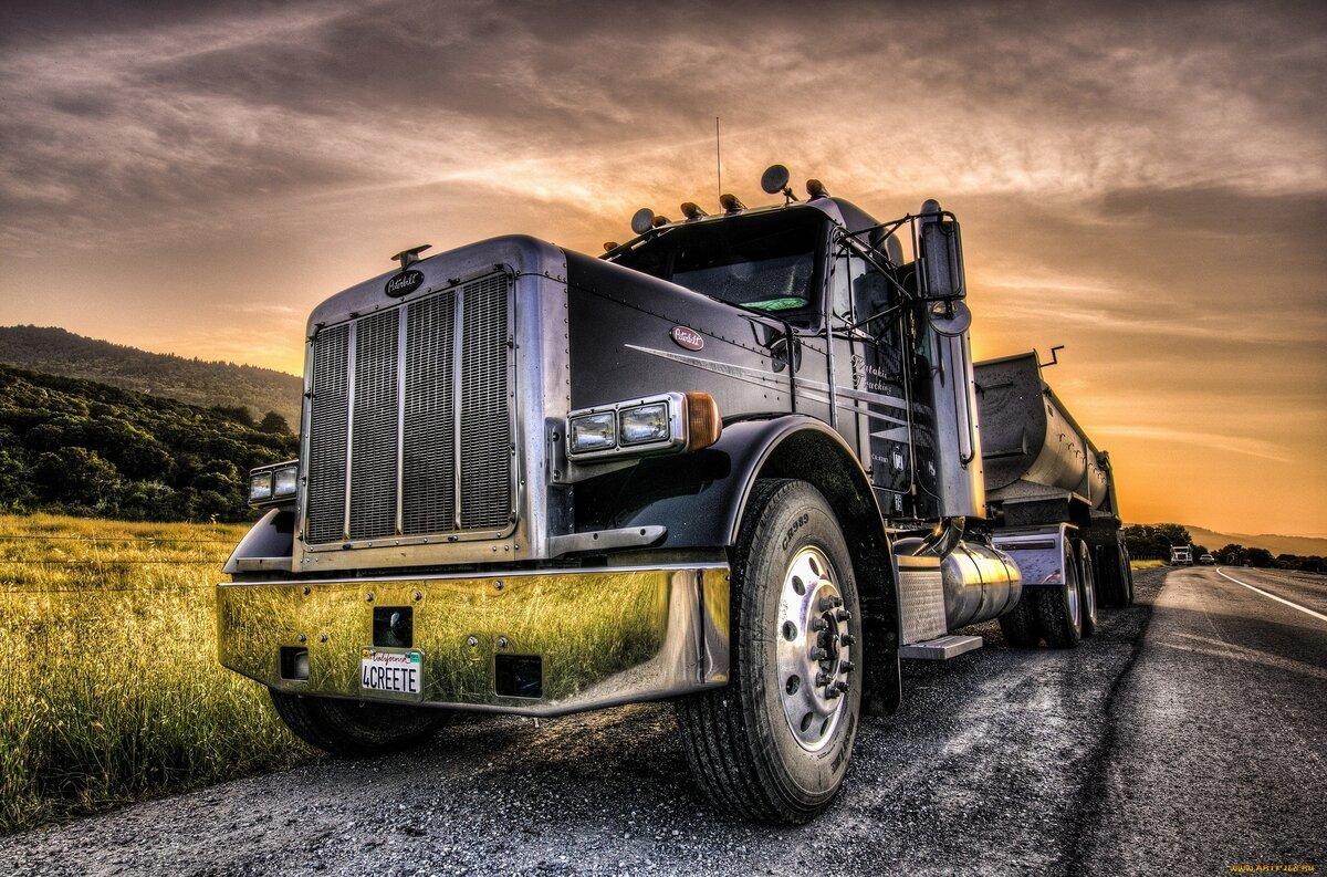 грузовики картинки на рабочие столы