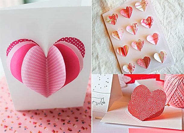 Как сделать валентинку открытку своими руками