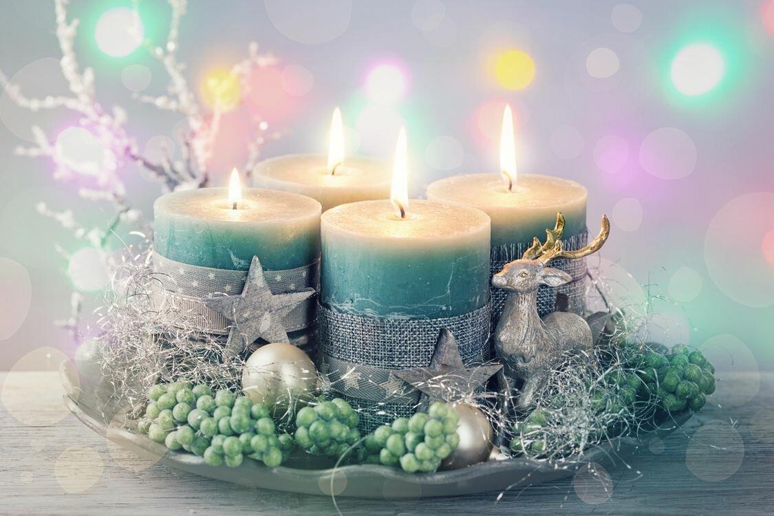 Новогодние свечи картинки красивые, поздравить маму днем