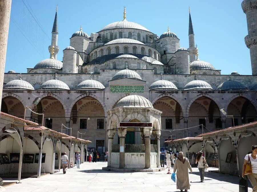 семья главная мечеть в стамбуле фото отметить