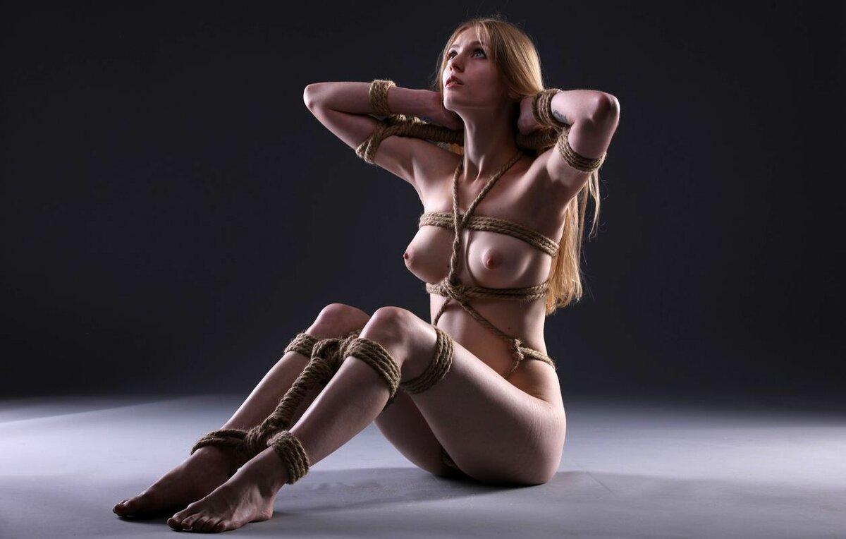 красивые эротические картинки связывание - 3