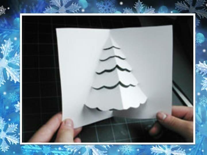 Открытки, презентация новогодняя открытка 3 класс