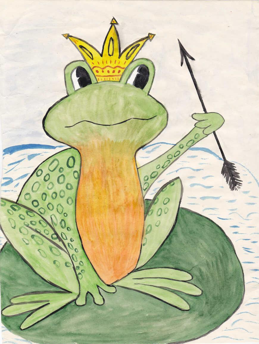 Картинка с царевной лягушкой, открыток открытки днем