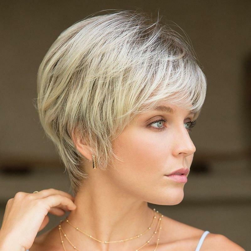 Короткие женские стрижки для тонких волос картинки