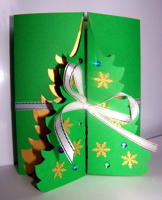 Новогодние открытки подарки своими руками