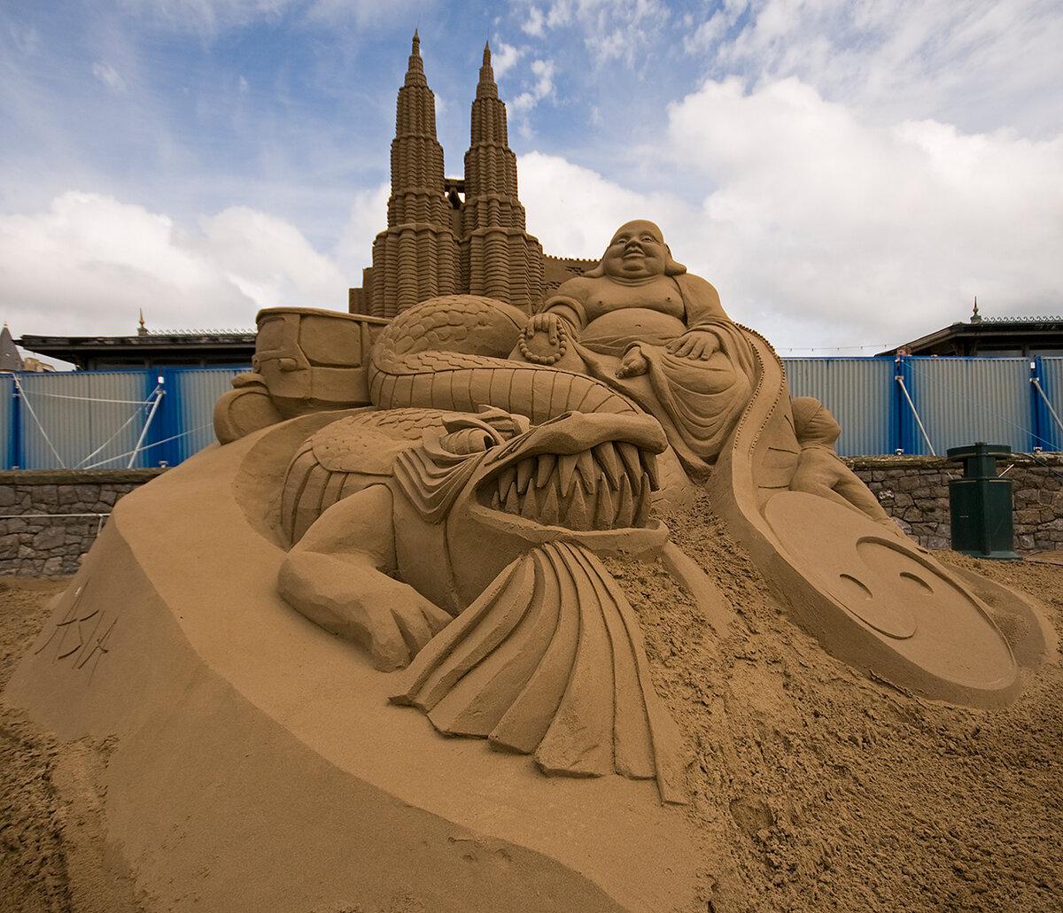 Песочные картинки из песка