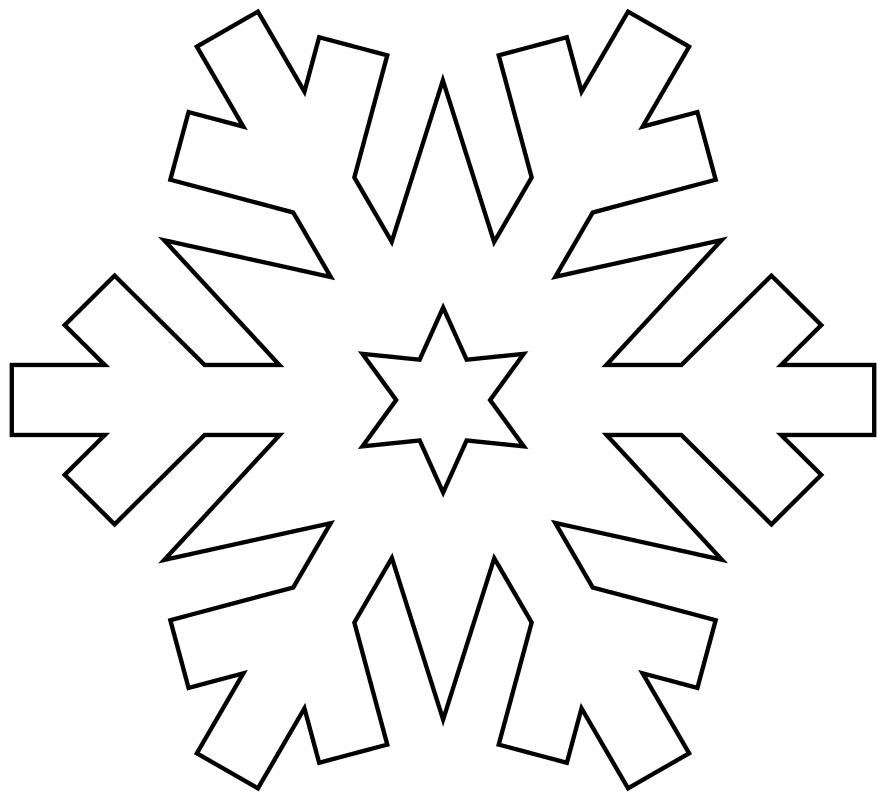 картинки новогодних снежинок для вырезания начала освоения