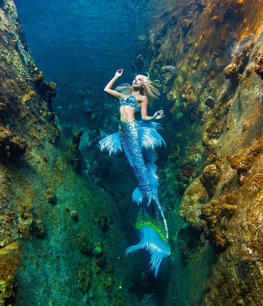 Самые красивые картинки русалок в мире