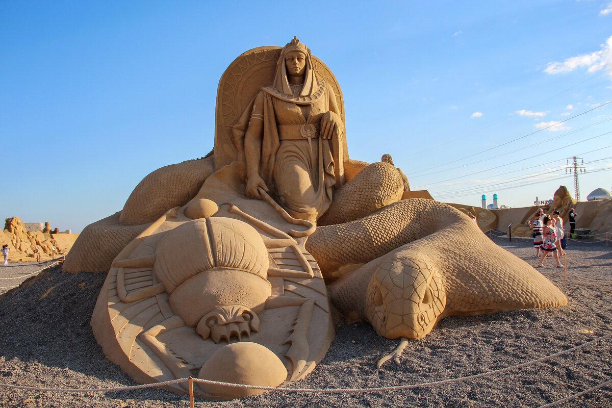 песочные картинки из песка интернет