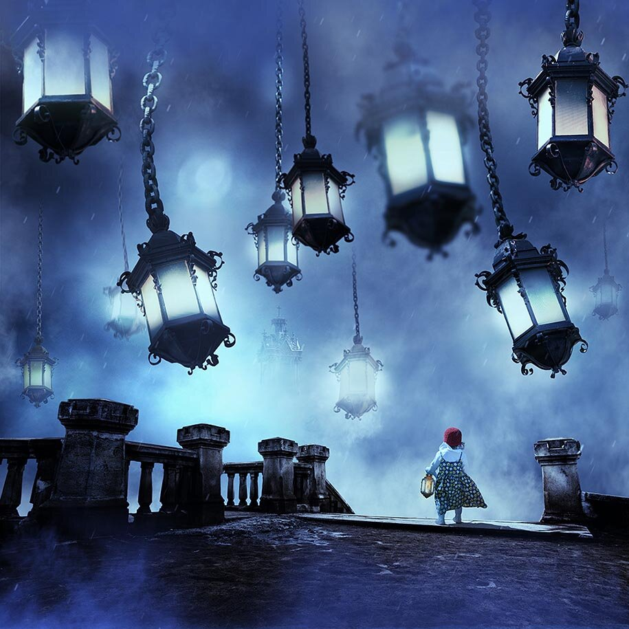 Картинки сюрреализм ночь, молоды