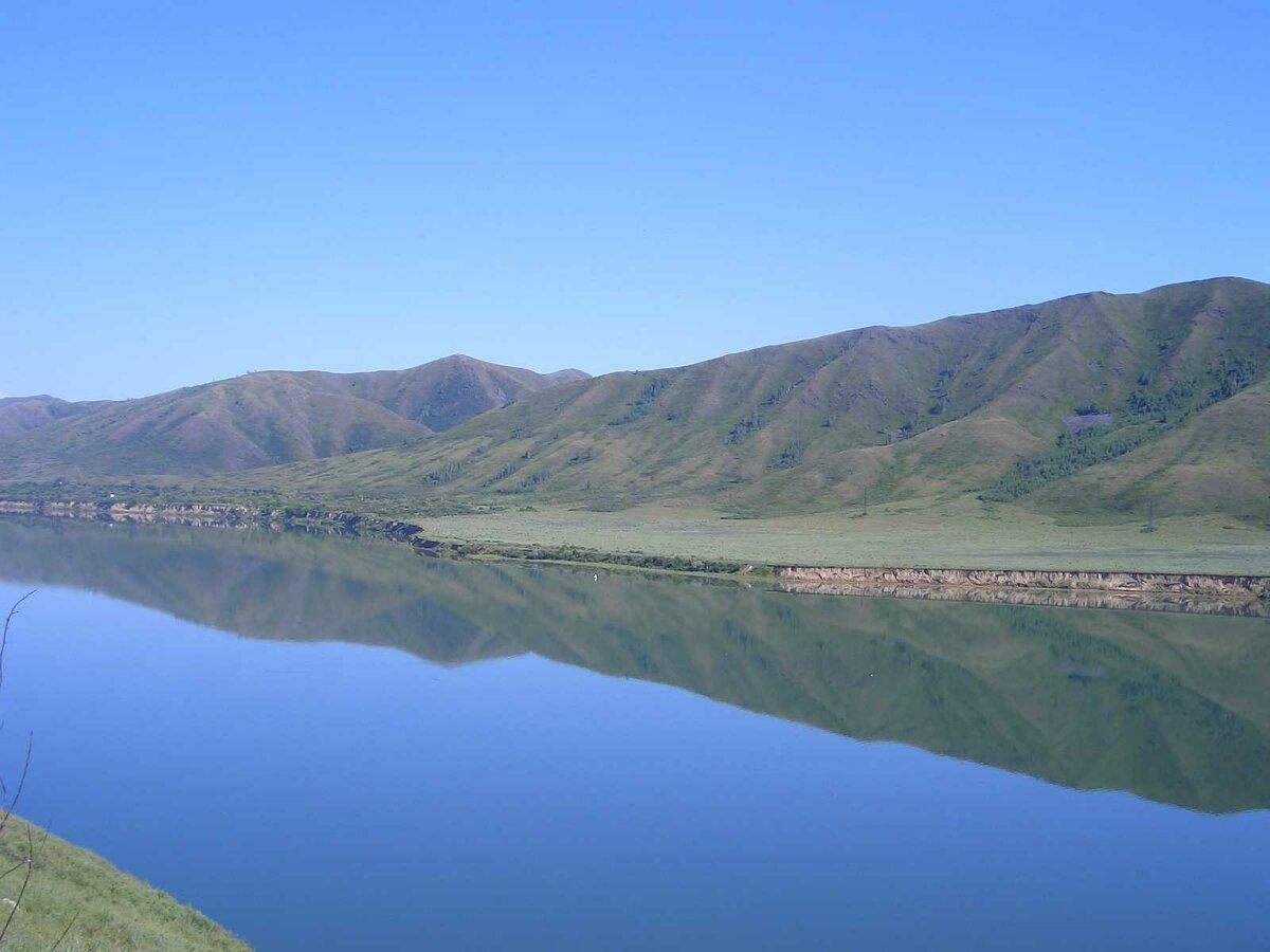 натяжные фото реки иртыш в казахстане достопримечательностей парка царского
