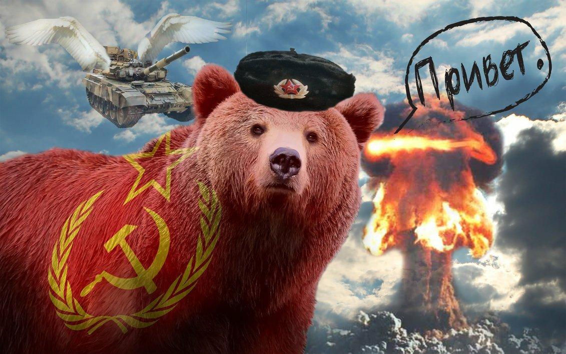 Дедушке дню, картинки русские медведи