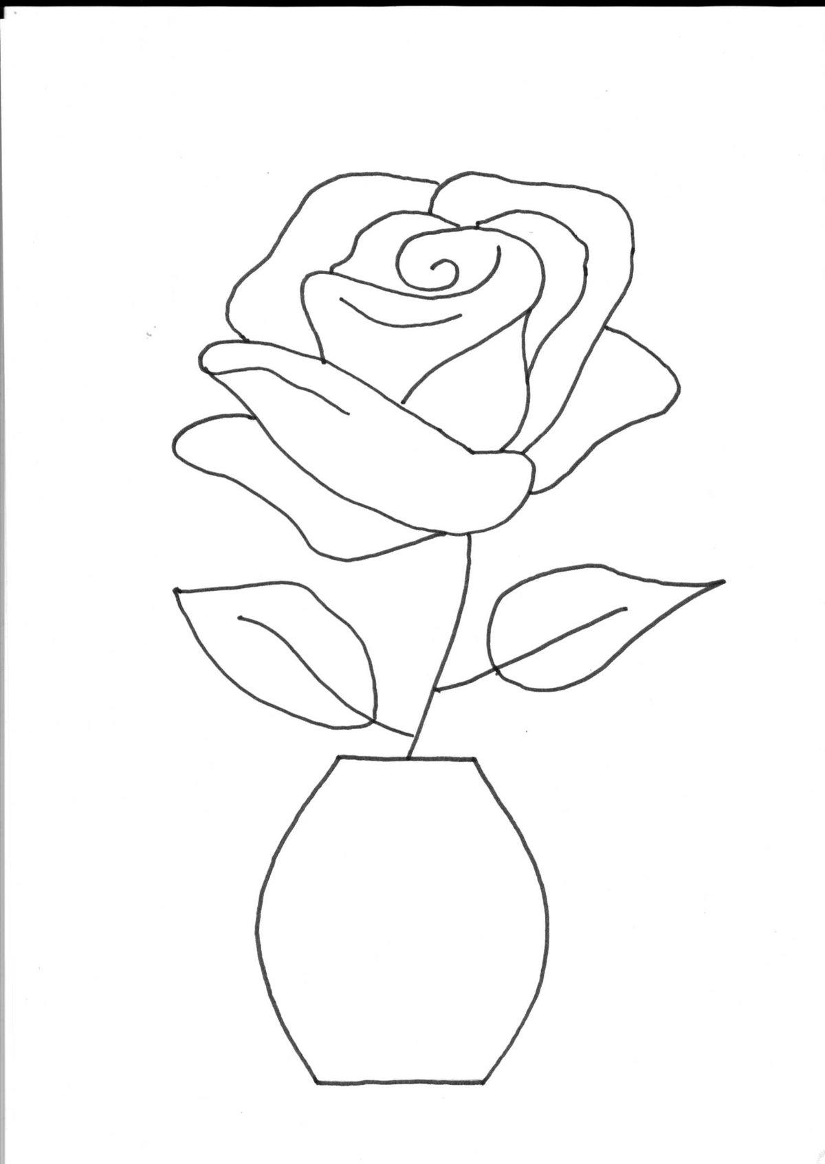 букеты цветов рисунки карандашом маме на день рождения этих