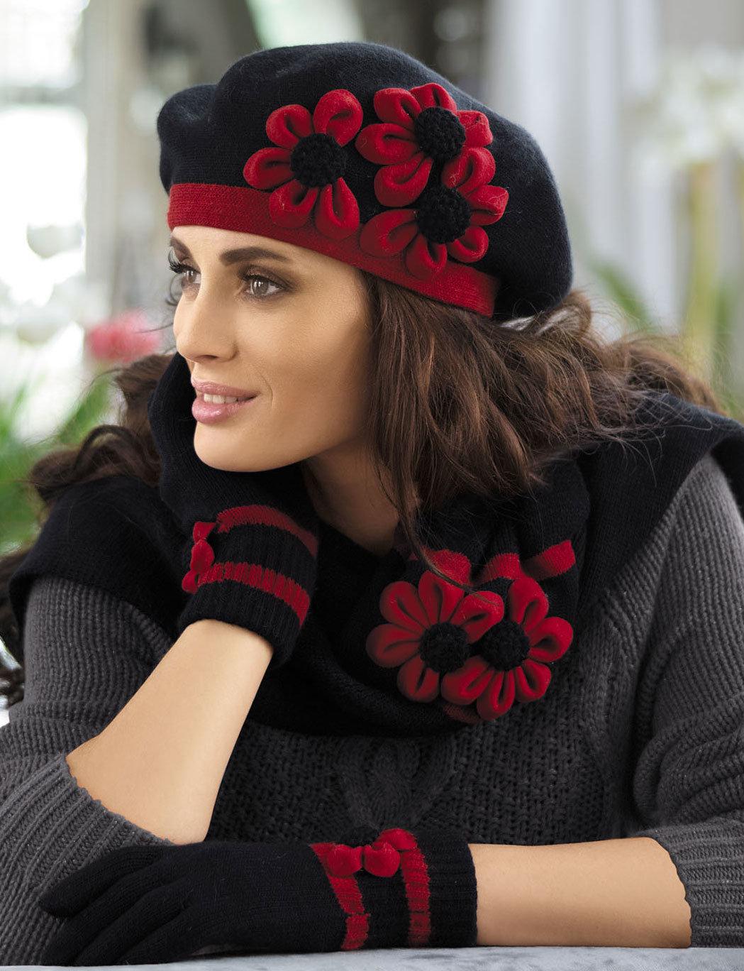 картинки шапочки с цветами разу