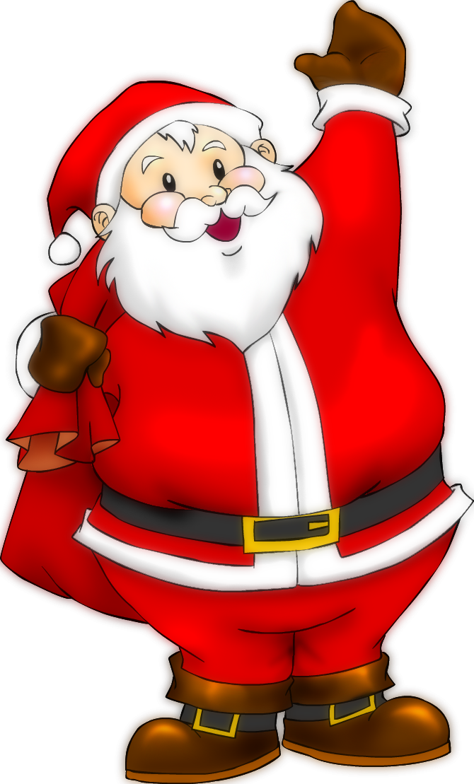 Санта клаус в картинках для детей