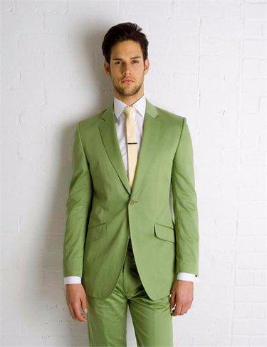 Куртка + брюки + галстук ) костюм мужской тонкий вечернее жениха ... 04a52d763fe