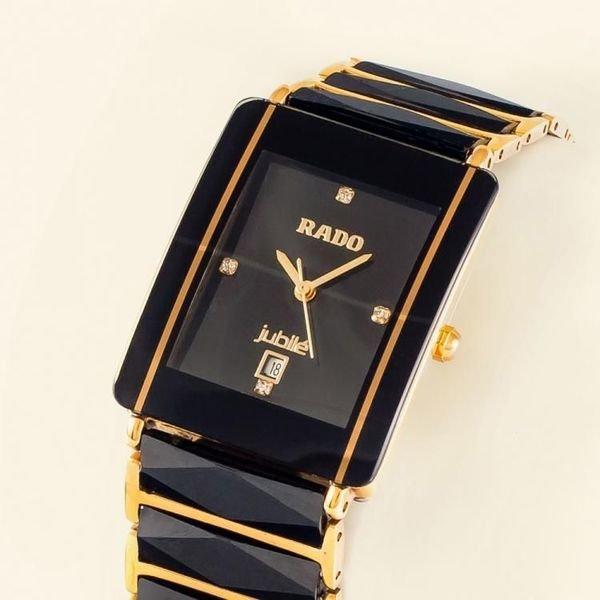 Мужские часы rado true thinline white - это классический хронометр с точным японским механизмом.