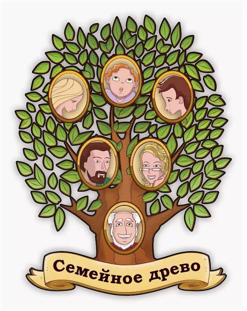 картинка семьи в виде дерева картинки что