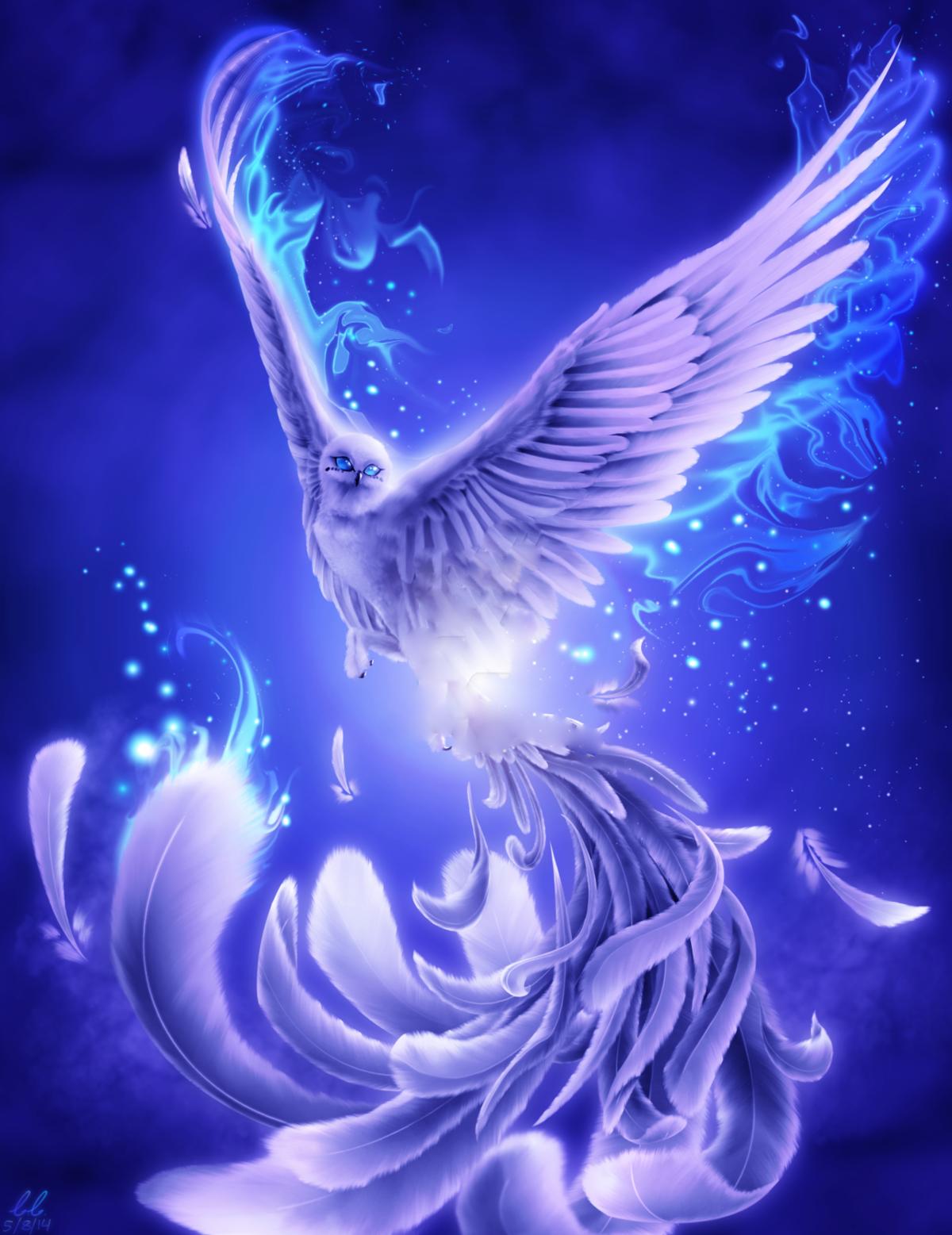 Открытки с синей птицей