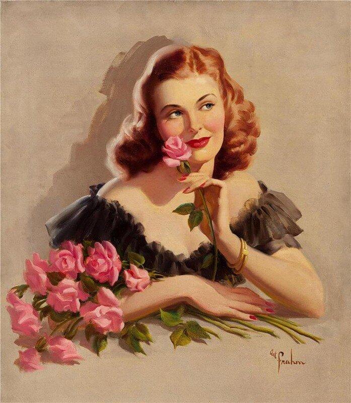 Скоро картинках, открытки женщины за 40