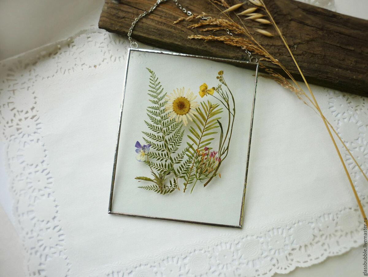 Открытки из сухоцветов своими руками, открыток ручной