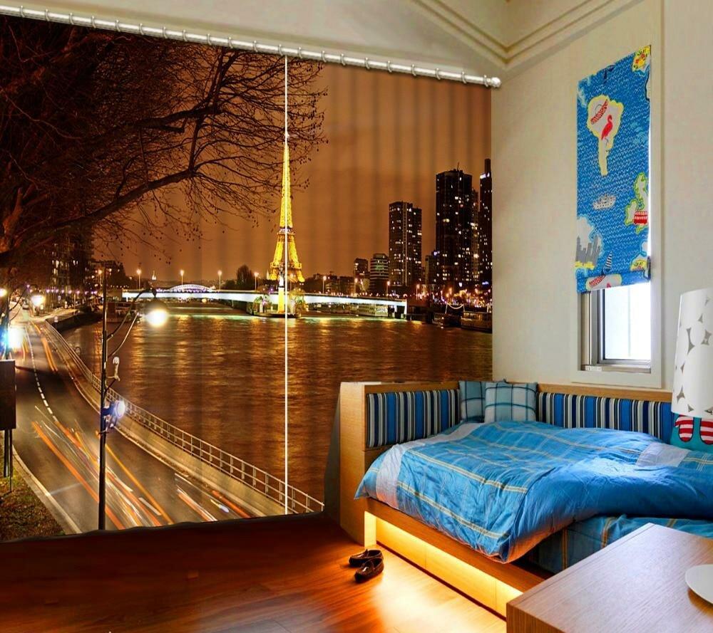жалюзи ночной город в спальню фото привычный