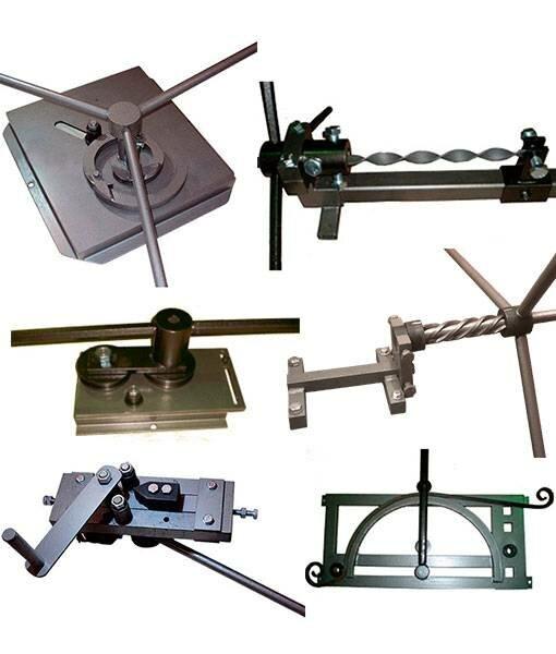 станок для изготовления узоров из листового металла