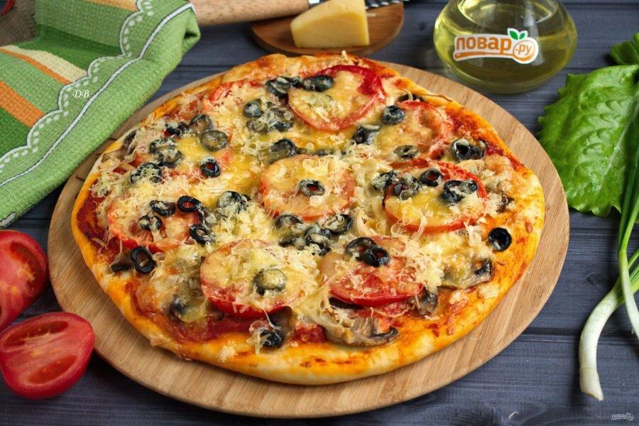Рецепты домашней пиццы фото описание