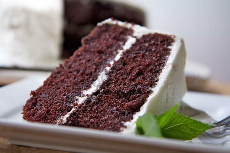 Торт из черемухи фото