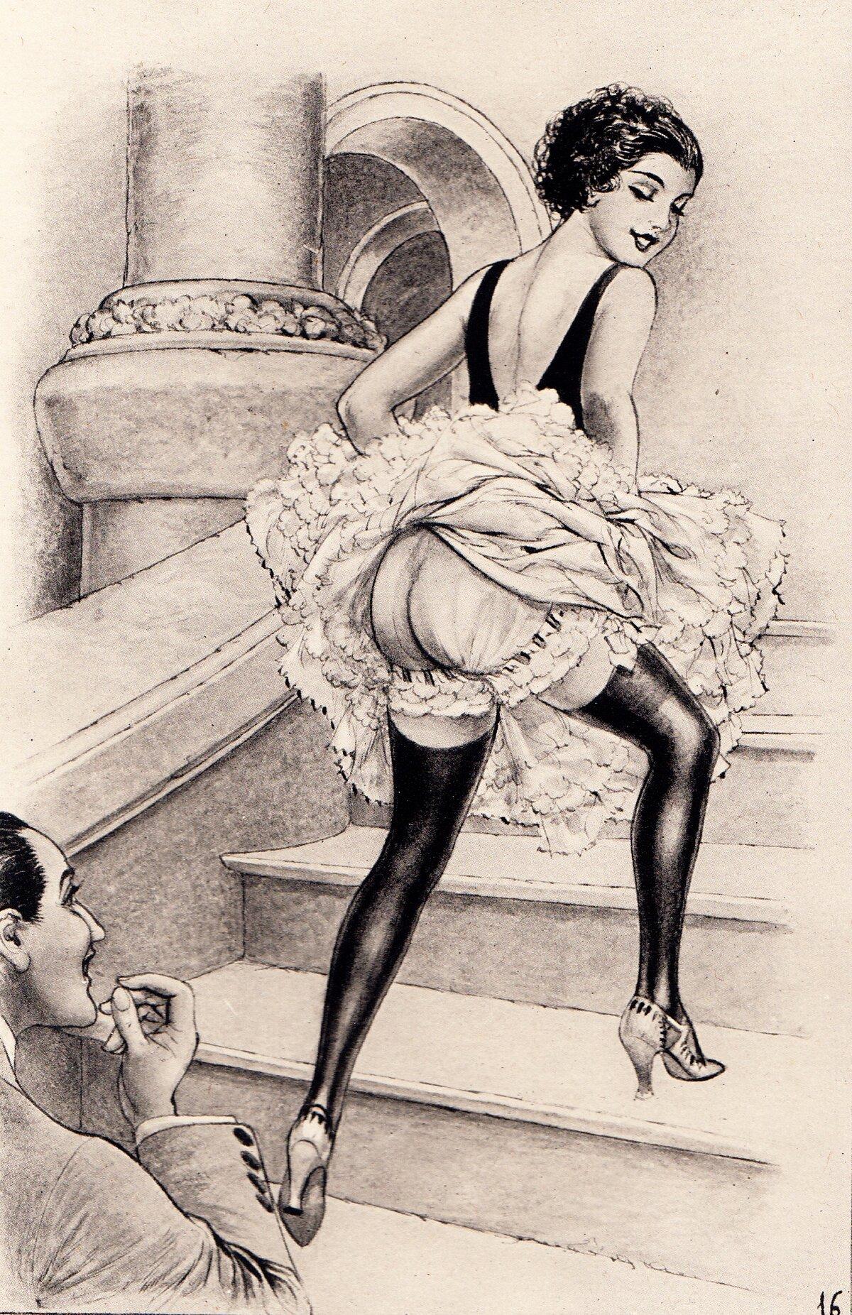 Ретро эротических рисунков, как сделать фалоимитатор дома