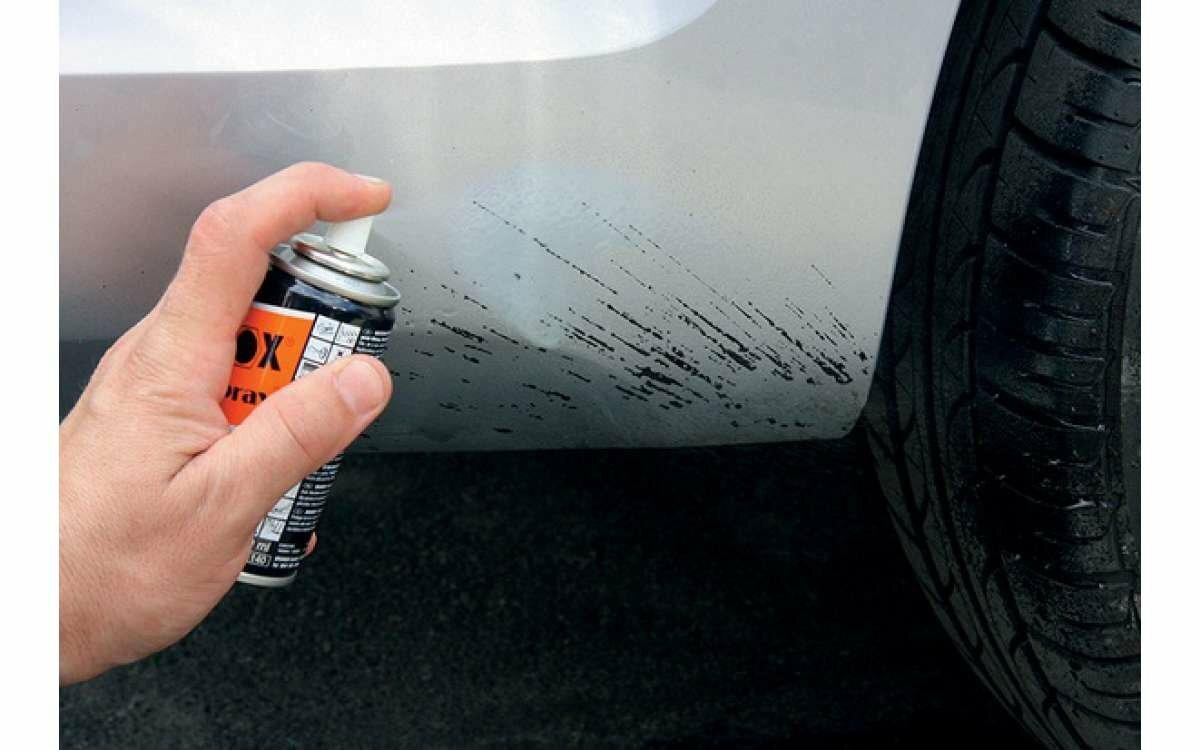 Удалить пятно с автомобиля фото