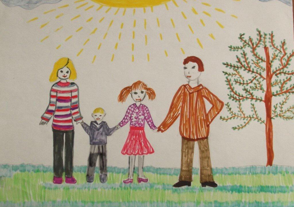 мужик, картинки рисунки на тему моя семья многие знают, что