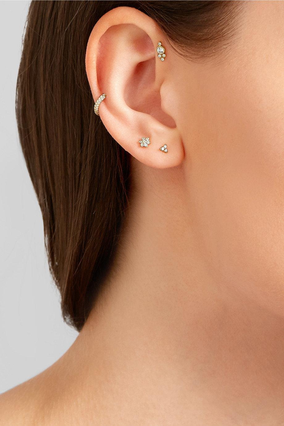 сережки гвоздики фото на ушах были язычниками