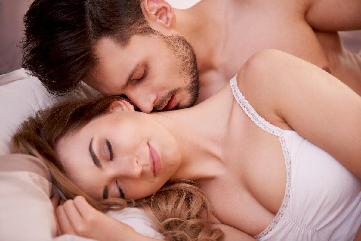 Нежный интим супругов