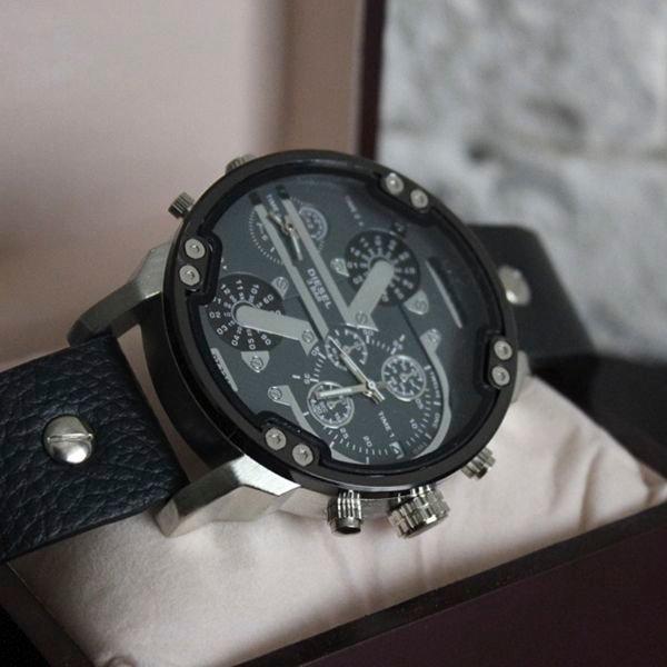 Элитные мужские часы diesel brave + два подарка!