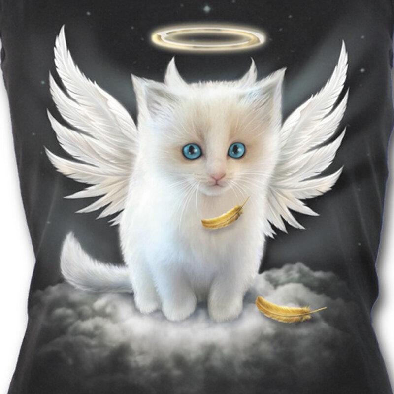 Анимационные картинки котята с крыльями