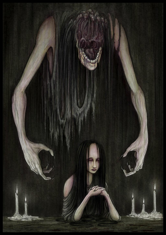 Ужас кошмар картинки
